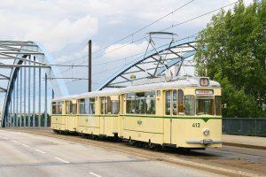 Triebwagen 413 - 22 Sitzplätze - Baujahr: 1966