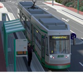 Visualisierung 2. Nord-Süd-Verbindung, Bauabschnitt 6 - Kannenstieg
