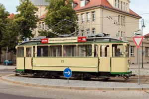 Triebwagen 23 - 20 Sitzplätze - Baujahr 1899