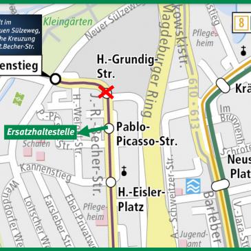 Linienänderung im Kannenstieg, ab 25.02.2019