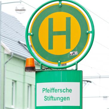 Haltestelle Pfeiffersche Stiftungen