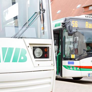 Buslinie 56 am Pechauer Platz