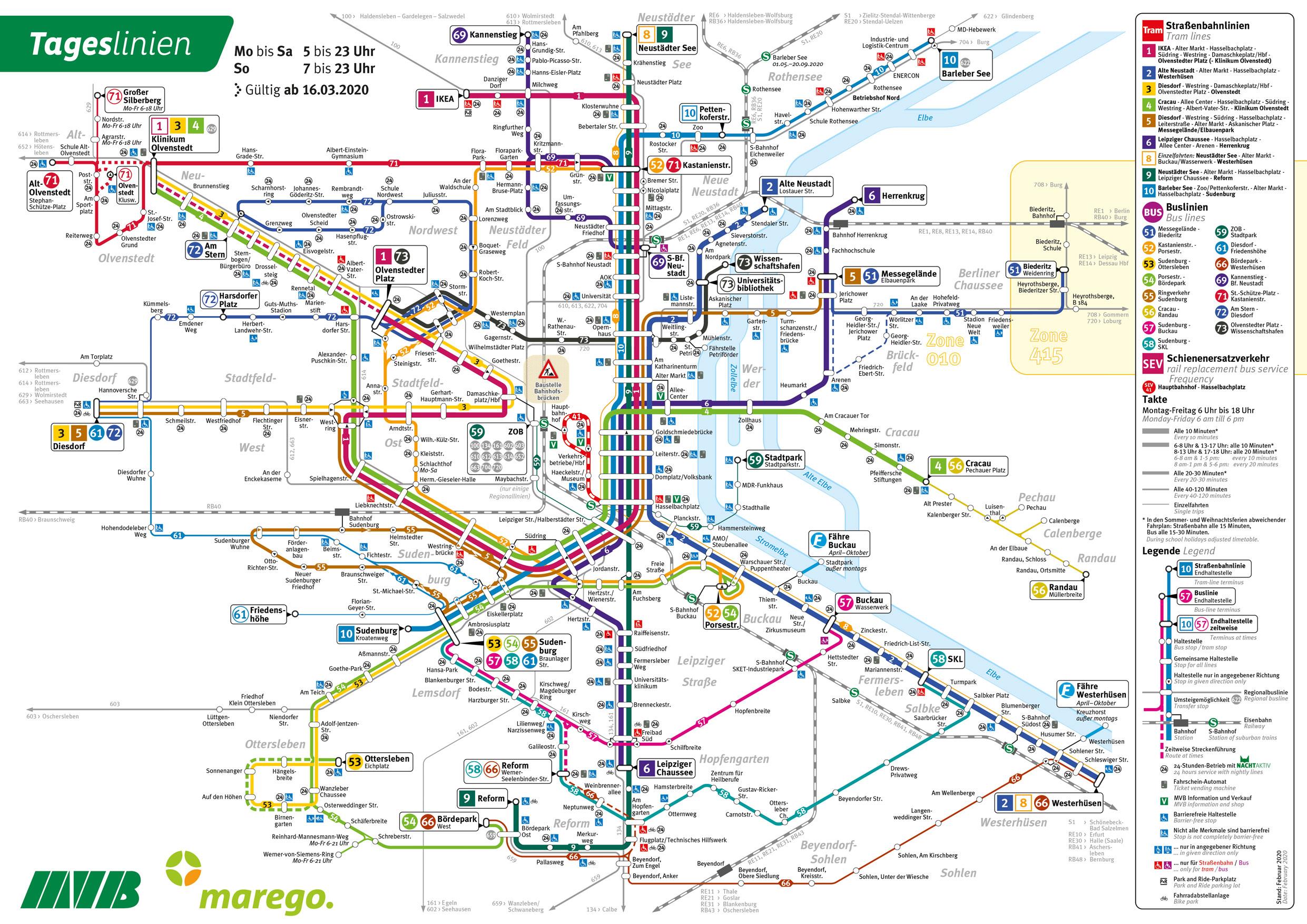mvb fahrplan linie 2