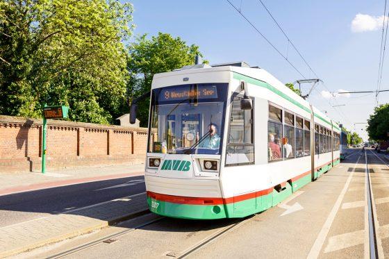 Straßenbahnlinie 9 (Foto: Stefan Deutsch)