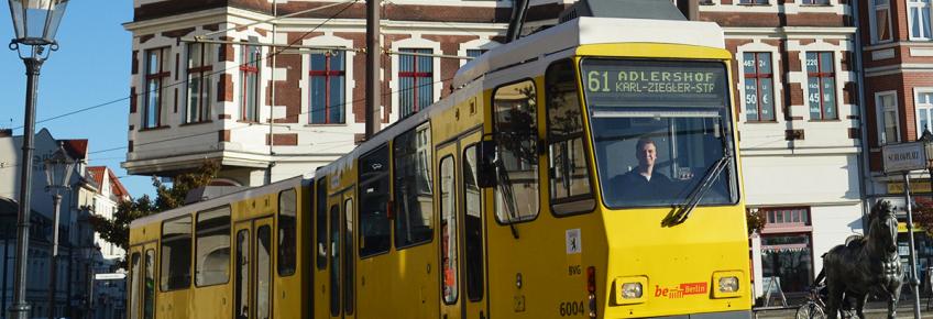 Tatrawagen KT4D der Berliner Verkehrsbetriebe – Foto: BVG / Oliver Lang