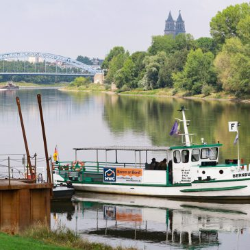 Fähre Bernburg (Foto: Peter Gercke)