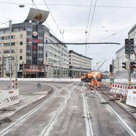 Neubau Gleisdreieck City Carré