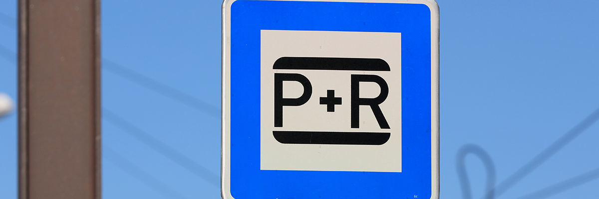 P+R Parkplatz (Foto: Peter Gercke)