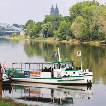 Fähre in Magdeburg, Foto Peter Gercke