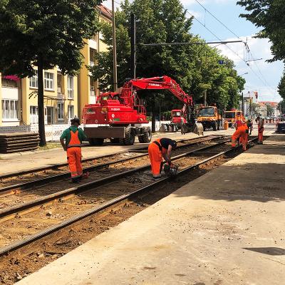 Instandsetzung der Großen Diesdorfer Straße
