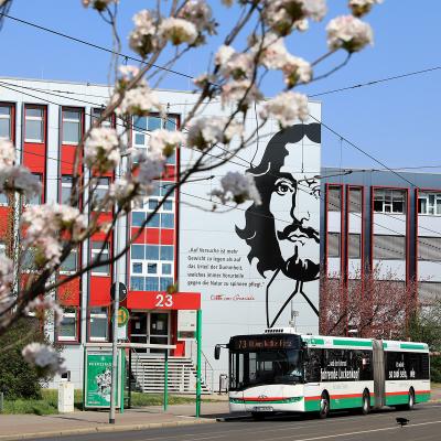 Haltestelle Universitätsbibliothek