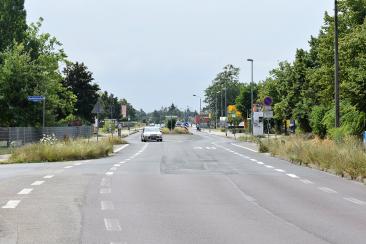 Blick in die heutige Kritzmannstraße