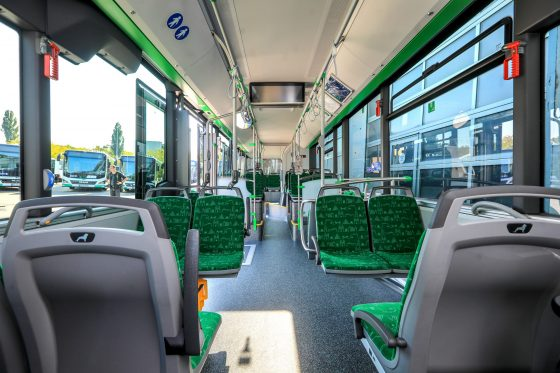 Fahrgastraum neue MAN-Busse 2021