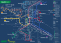 Liniennetzplan Nachtverkehr, gültig seit 28.10.2019