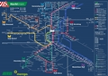 Liniennetzplan Nachtverkehr, gültig ab 4.7.2019
