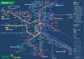 Liniennetzplan Nachtverkehr, gültig ab 10.8.2017
