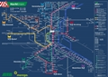 Liniennetzplan Nachtverkehr, gültig ab 25.7.2019