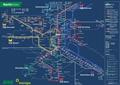 Liniennetzplan Nachtverkehr, gültig ab 9.8.2018