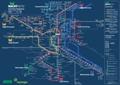 Liniennetzplan Nachtverkehr, gültig bis 31.3.2017