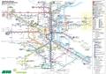 Tagesliniennetz Sperrung Bahnhofsbrücken